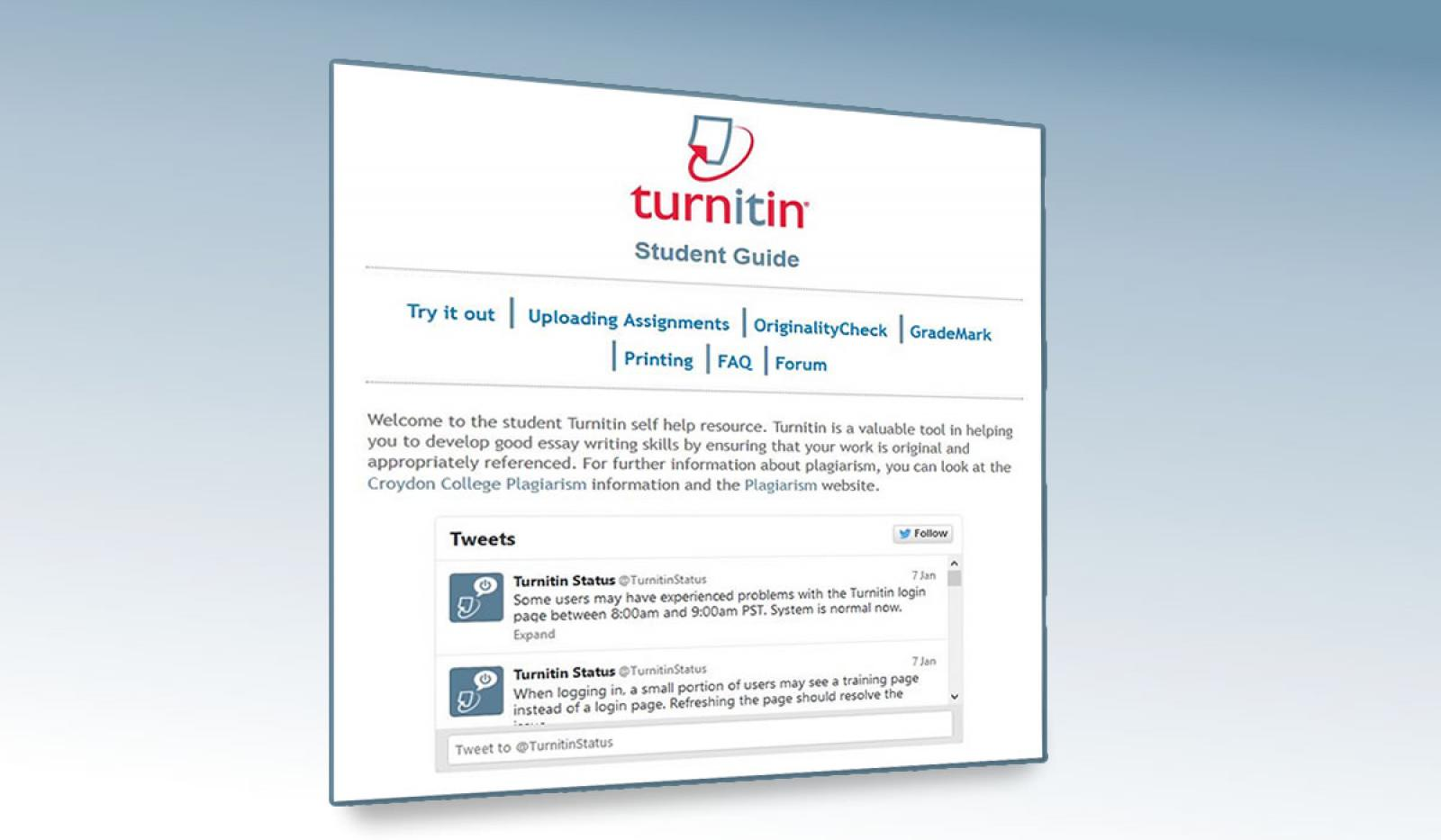 Waterloo learn turnitin uk